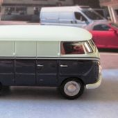 VW COMBI T1 TRANSPORTER CARARAMA 1/72 - COMBI TOLE - car-collector.net
