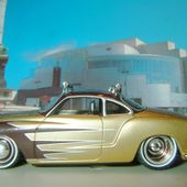 VOLKSWAGEN KARMAN GHIA COUPE 1959 CUSTOM JADA TOYS 1/64 VW KARMANN - car-collector.net