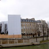 Paris - Hôtel Lambert en rénovation - Le billet de Michel
