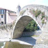 le vieux pont de Dolceaqua (Italie) - Le blog de philae