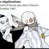 DES ARGUMENTS FACE AUX NEGATIONNISTES ET AUX ANTISEMITES - Blog géopolitique de D. Giacobi