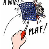 Humour Presidentielle 2012: Le vote splash contre Sarkozy