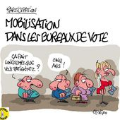 Humour Elections: Abstention, attente ou mobilisation?