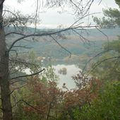 La rando des 2 lacs au départ de Vins/Caramy (25/11/2012) - VTT a 2
