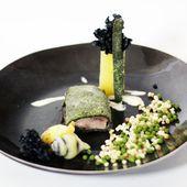 Filet mignon de marcassin en croûte d'herbes et poire de terre - Vom Fass - Philou - Un Cuisinier chez Vous