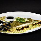 Filets de sole en croûte de moules de bouchot - Philou - Un Cuisinier chez Vous
