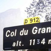 """Col du Granier : - """"Pas trop Dré dzin le pintu"""""""