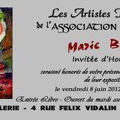 Plus que quelques jours à la Galerie Corrèz'Art à Tulle - Le blog de Marie BAZIN : artiste peintre, chanteuse, graphiste