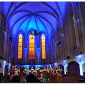 Quettehou : l'église en lumière - Le Val de Saire vu par Ph L