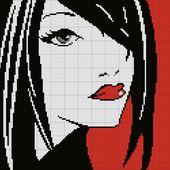 Silhouette Femme7 : Grilles Gratuites 2013 - Le Blog des Dames