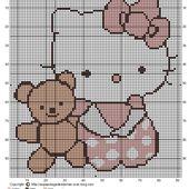 Grilles Gratuites 2014 : BB Hello Kitty Rose - Le Blog des Dames