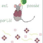 Grilles Gratuites: La petite souris et la 1ère dent - Le Blog des Dames