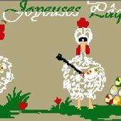 Joyeuses Pâques 2014: La Grille - Le Blog des Dames