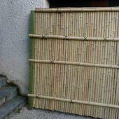 palissade bambou sur mesure - Création de jardins d'inspiration japonaise