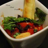 Verrines de dinde à la sauce soja et ses crudités - Mama Fati
