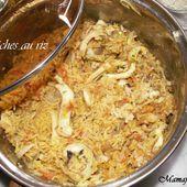 Seiches au riz - Mama Fati