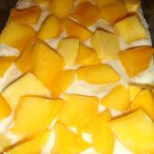 Cake Moelleux Coco / Mangue ultra rapide.