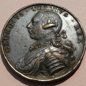HANOVER. GEORGE III. Médaille 1760 - Le blog de spade-guinea-george-iii.over-blog.com