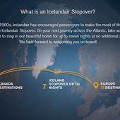 La superbe campagne de Icelandair pour vanter ses stopover