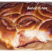 brioche à la cannelle - Baba's Kitchen
