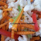 kemia - salades - La Cuisine Juive Sepharad et autres recettes gourmandes ...