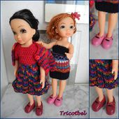 Robe au crochet pour Best Friends