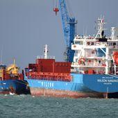 Les escales de cargos s'enchaînent à Cherbourg -
