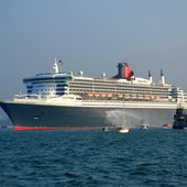Retour sur les escales de septembre : le Queen Mary 2 le 7 -