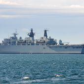 Navires militaires pour les 70 ans du Débarquement -