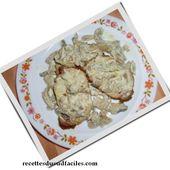 Rôti de porc aux champignons - Bienvenue sur Recettes du Sud faciles