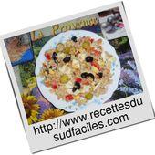 Salade de riz au thon - Bienvenue sur Recettes du Sud faciles