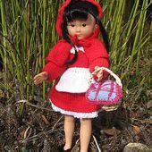 Tuto tricot - Le petit Chaperon Rouge