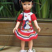 Un nouveau tuto de robe pour Chéries - Le blog de tricotdamandine.over-blog.com