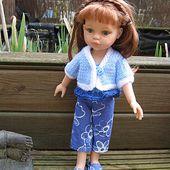 """Un petit gilet pour """"Chéries"""" ou """"Paola Reina"""" - Le blog de tricotdamandine.over-blog.com"""