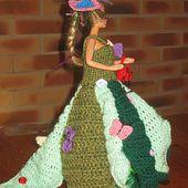 Robe Fleur d' été - Le blog de tricotdamandine.over-blog.com
