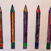 Colorier des crayons de couleurs (avec les moyenne section de maternelle) - Le blog de fannyassmat, le quotidien d'une assistante maternelle en mille et une anecdotes