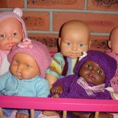 Les poupées, quelle(s) histoire(s) ! - Le blog de fannyassmat, le quotidien d'une assistante maternelle en mille et une anecdotes