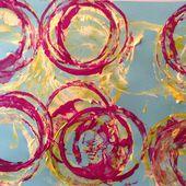 Empreintes de peinture avec des enfants de moyenne section de maternelle - Le blog de fannyassmat, le quotidien d'une assistante maternelle en mille et une anecdotes