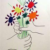 Oeuvres d' enfants, oeuvres d'artistes - Le blog de fannyassmat, le quotidien d'une assistante maternelle en mille et une anecdotes