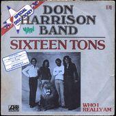don harrison band - sixteen tons 1976 - l'oreille cassée