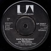 Dr Feelgood - back in the night - 1975 - l'oreille cassée