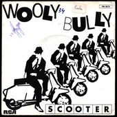 scooter - wooly bully 45 t RCA Victor PB 8573 1980 - l'oreille cassée