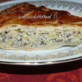 galette des rois aux pommes, poires et pavot - Le blog de lesdelicesdethithoad