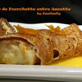 Cannelloni de crêpe à l'orange) - Coup de Fourchette entre Jazette by Paulinelly