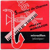 disque publicitaire souple Monsavon - tom pillibi - 1960
