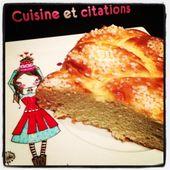 Ma brioche tressée facile et gourmande... idéale pour le petit déjeuner ! - Le blog de cuisineetcitations-leblog