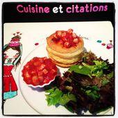 Mes bouchées à la reine à la sauce tomate... Une recette de ma grand mère... - Le blog de cuisineetcitations-leblog