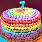 Rainbow cake - Cook'N'co, le blog de cuisine