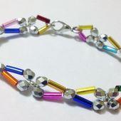 Bracelet Perles Tubes et Facettes - Facile - Passions Ephémères