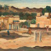 Une autre peinture représentant Laghouat à découvrir.